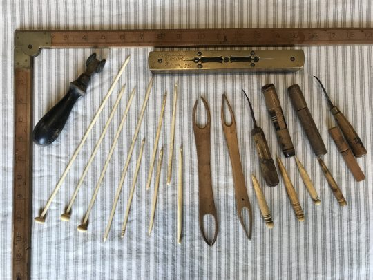 Collection of tailors tools from Cardiganshire Sold