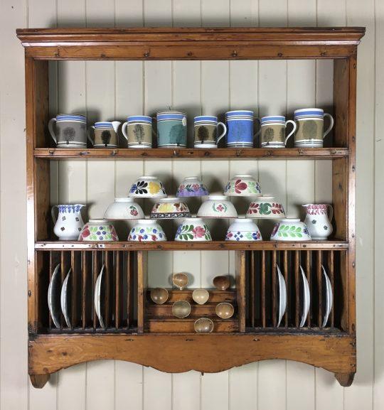 Victorian pine kitchen rack Sold