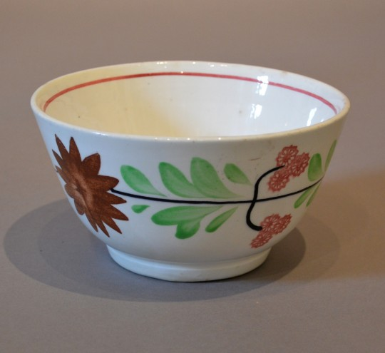 Hand painted & sponged bowl Sold