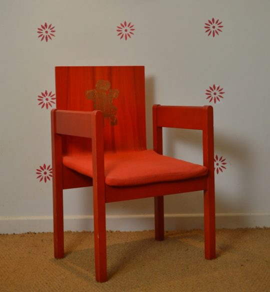 A Prince of Wales Investiture chair Sold