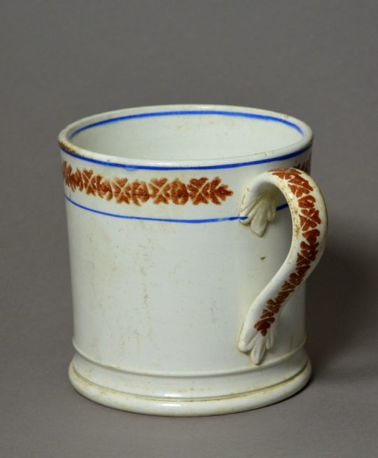 Large spongeware mug Sold