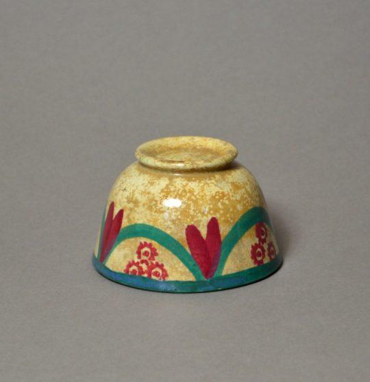 Tiny spongeware bowl sold