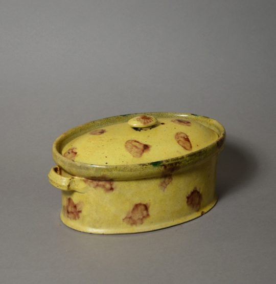 French slip decorated tureen Sold