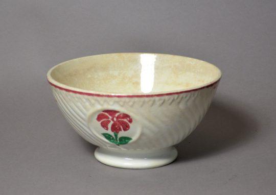 Spongeware cawl bowl