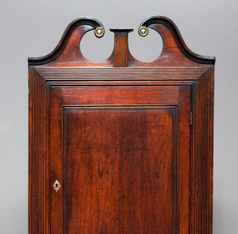 Fruitwood corner cupboard Sold