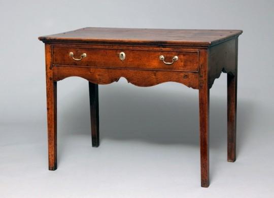 Welsh oak side table Sold