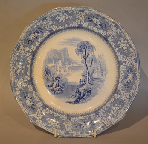 Llanelly / South Wales Pottery plate