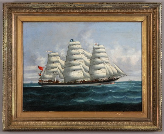 Ship portrait of the Cortez Sold