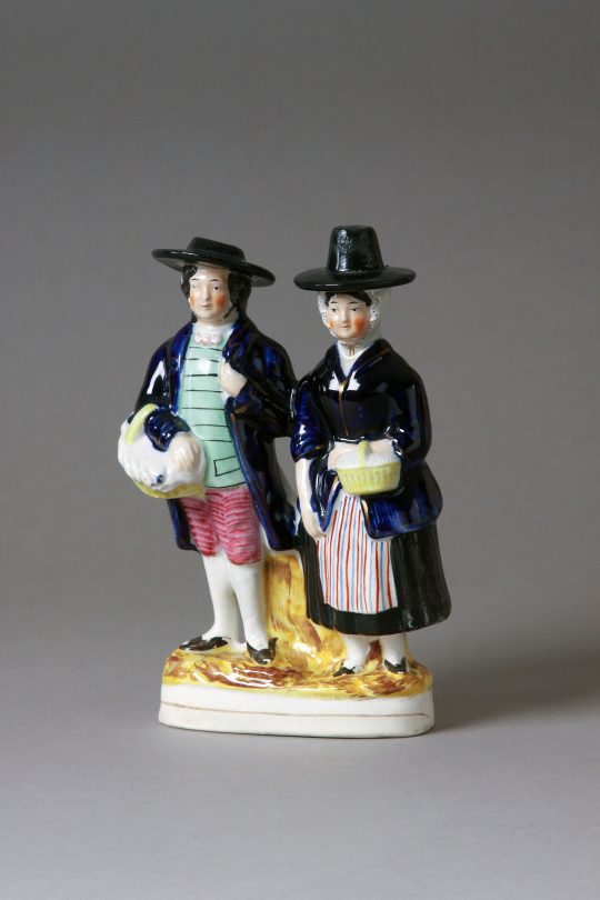 Victorian Staffordshire figure Sold