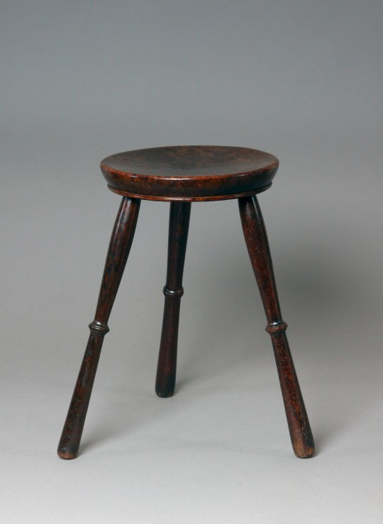 Burr oak stool (on hold)