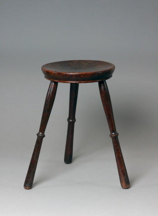 Burr oak stool (on hold)