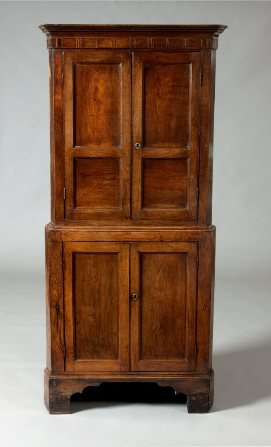 Small Welsh corner cupboard