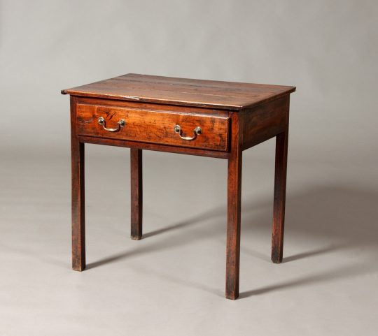 Fruitwood side table Sold