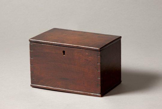 Small Welsh oak box Sold