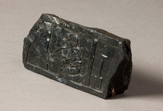 Folk art coal carving Sold