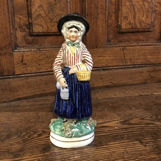 Jenny Jones Staffordshire figure Sold