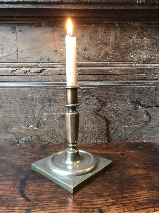 Spanish brass candle stick