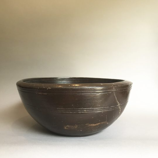 Turned Welsh sycamore bowl