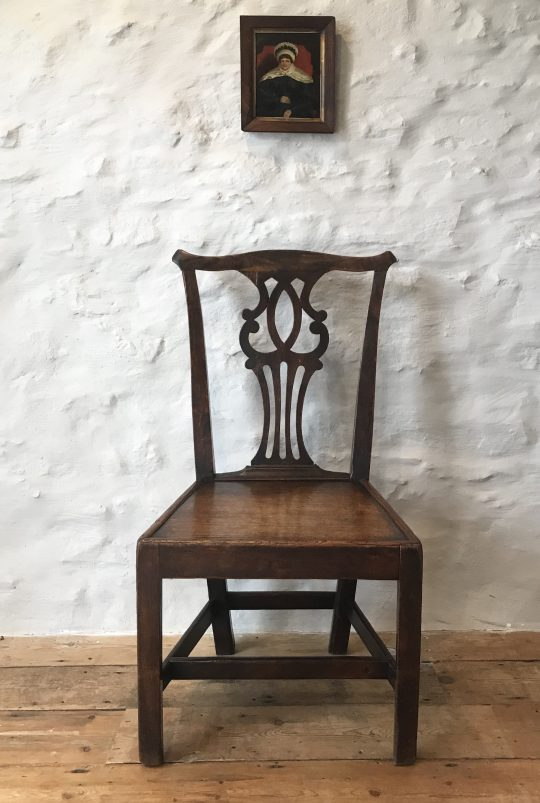 Georgian Elm chair Sold