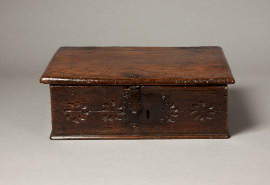 Small oak box Sold