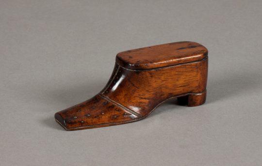 Shoe snuff box Sold