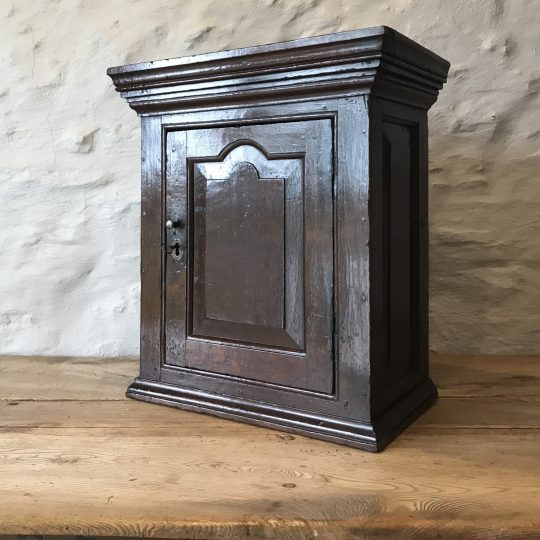Welsh oak wall cupboard Sold