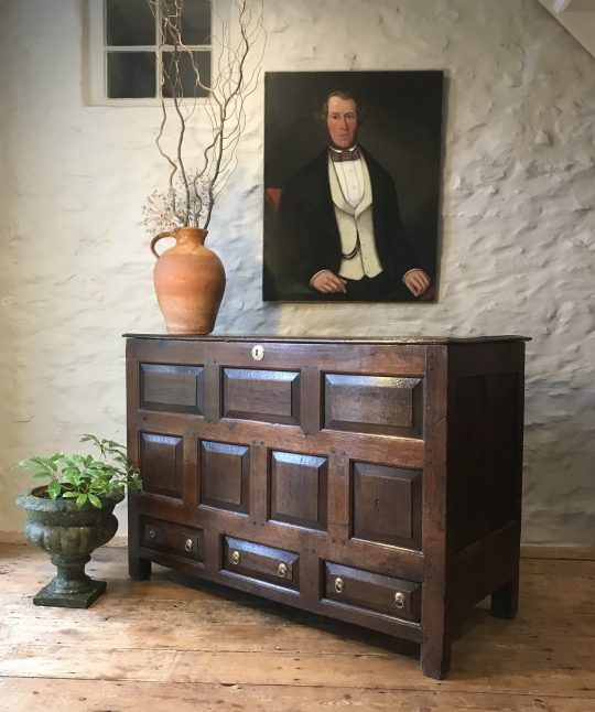 Welsh oak chest (on hold)