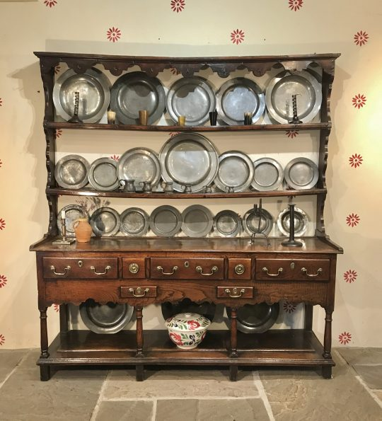 Georgian Welsh oak dresser