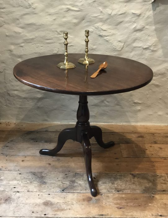Welsh mahogany pedestal table (on hold)