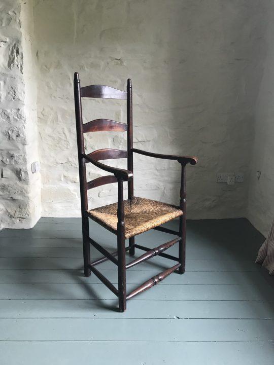 American ladder back chair