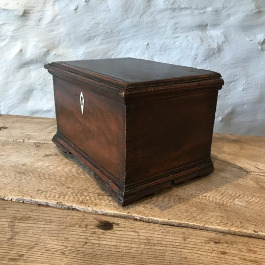 Small painted Georgian box