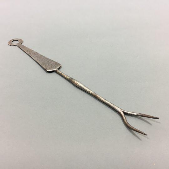 18th century steel flesh fork – on hold