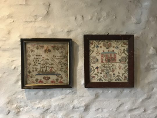Small Welsh samplers (one sold)