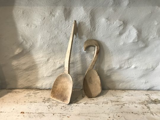 Welsh sycamore ladle and scoop