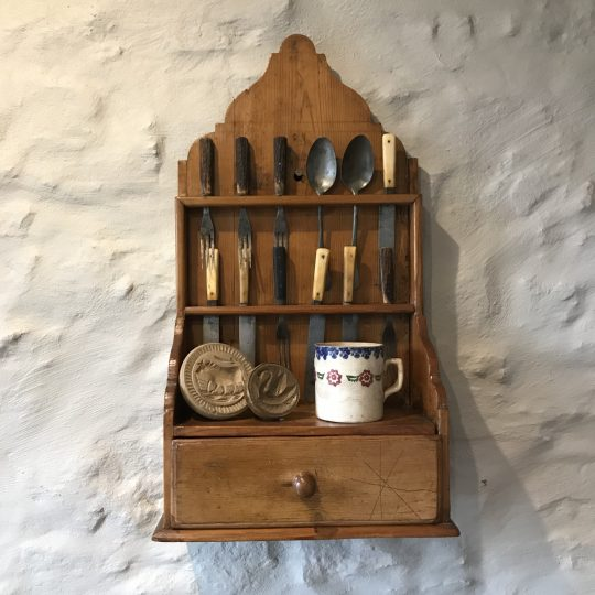 Pine cutlery rack Sold