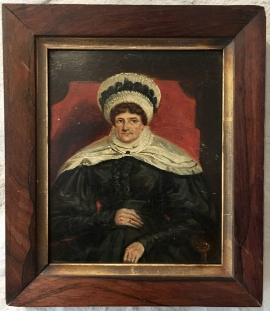 Small Portrait of a Liverpool Matriarch?