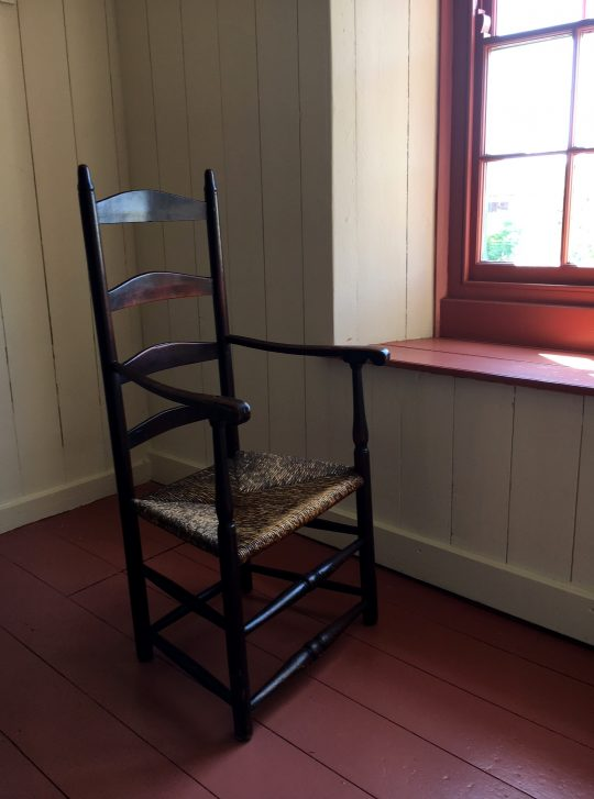 American ladder back chair Sold