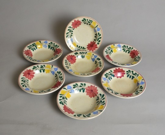Set of  seven small bowls Sold