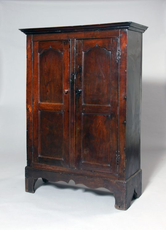 Small Welsh oak cupboard Sold