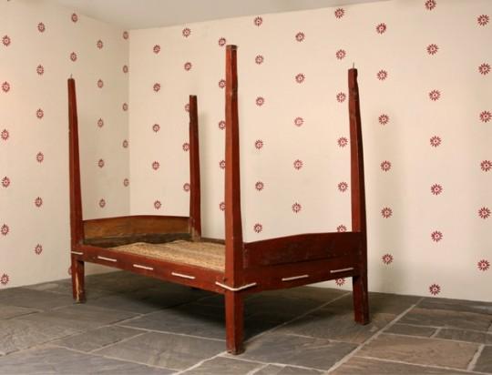 Primitive Welsh bed Sold