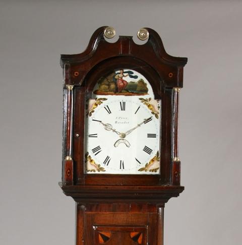 Welsh longcase clock/ Cloc mawr Gymreig Sold
