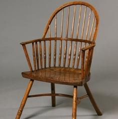 Hoop-back Windsor chair