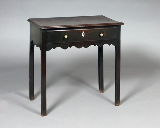 Small oak side table Sold