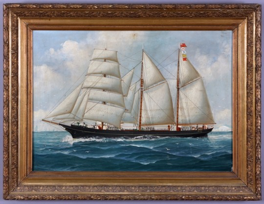 Ship Portrait of the Daisy  Sold