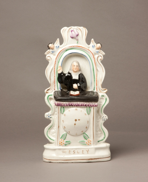 John Wesley Staffordshire figure sold