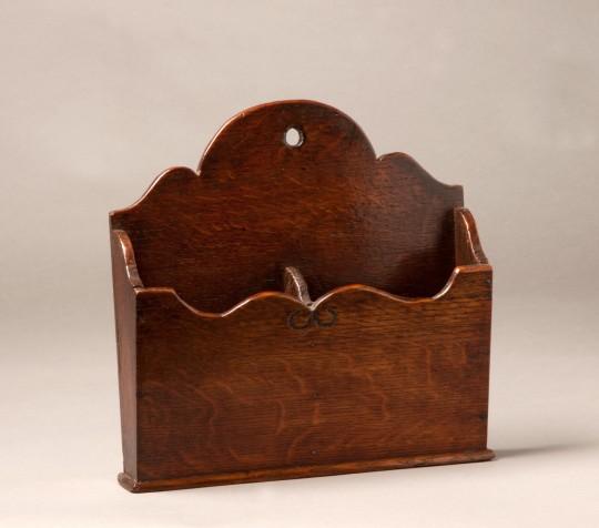 Oak wall pocket Sold