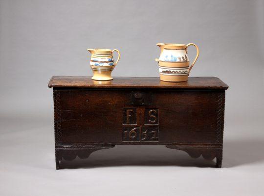 Oak chest / Cist dderw Sold
