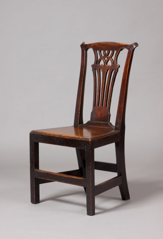 Welsh oak side chair Sold