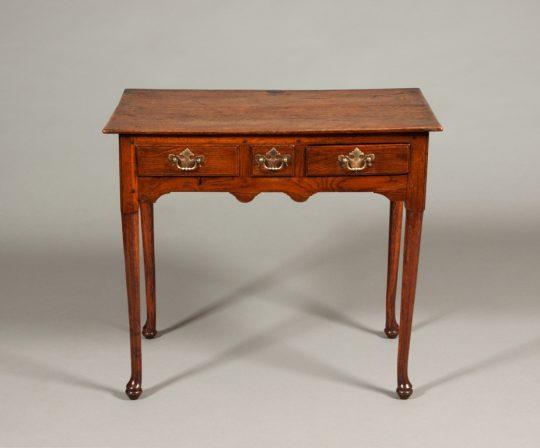 Oak side table Sold