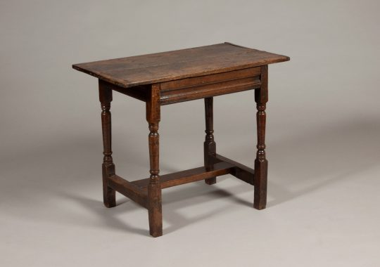 Welsh oak centre table Sold